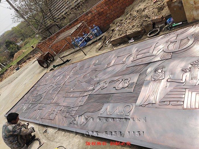 河北快三介绍铸铜浮雕制作的工艺手法是什么?